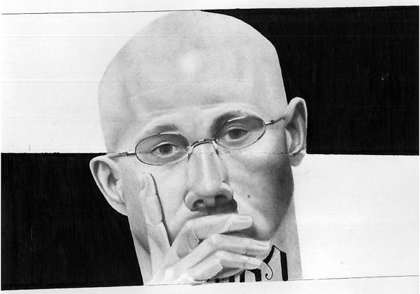 Billy Sell self-portrait #1