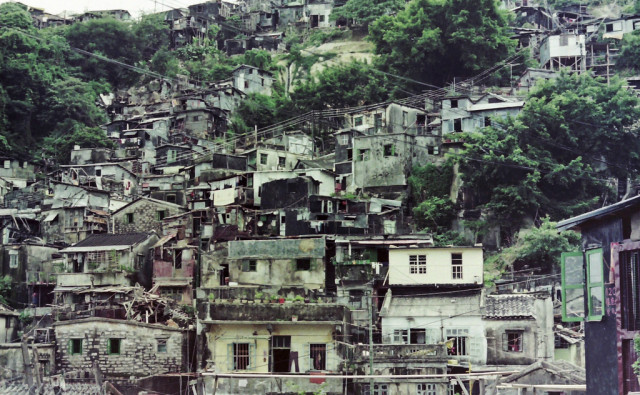 Shantytown, Hong Kong.